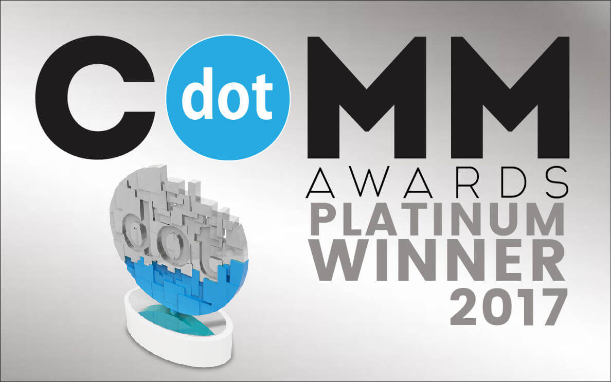 dotCOMM Platinum Award Winner