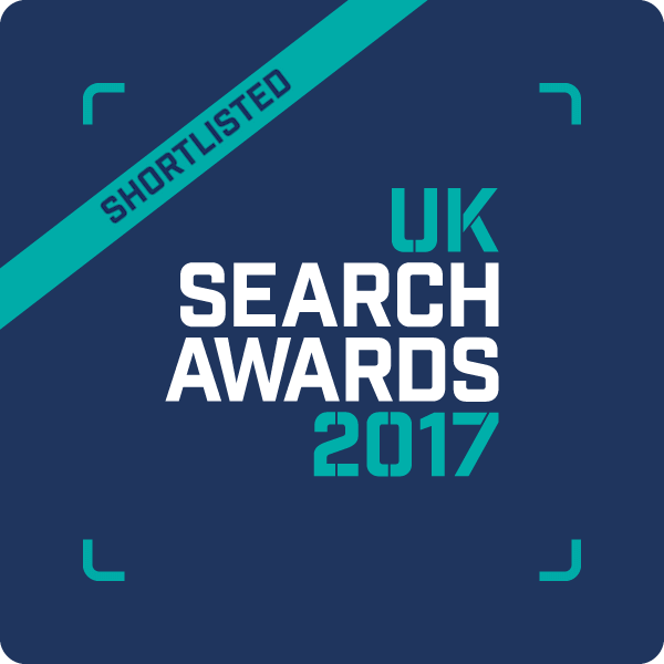 SEO Works UK Search Awards Shortlist