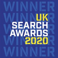 UK Search Awards Winner 2020